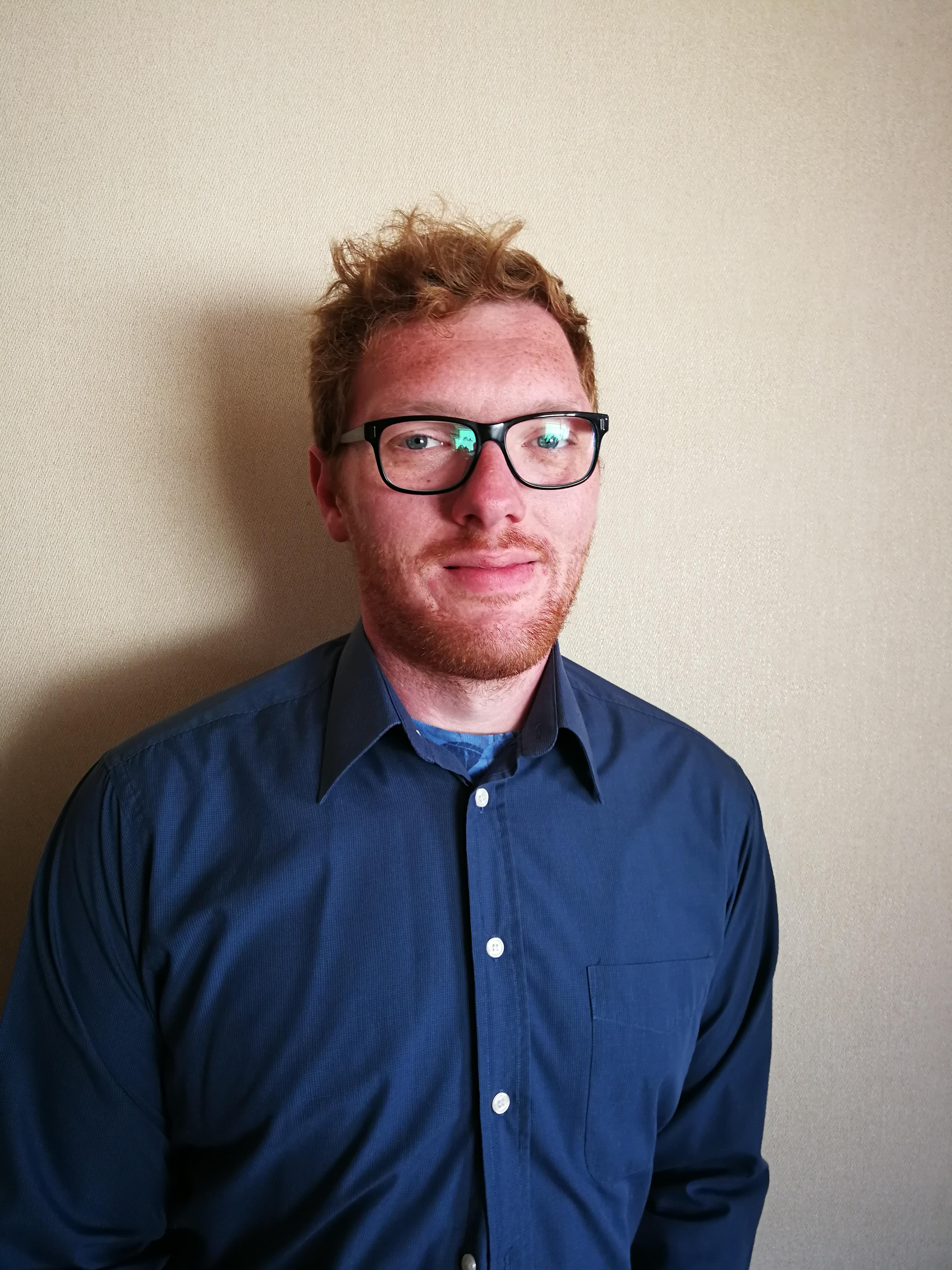Photo of the lighting designer Kyle Best